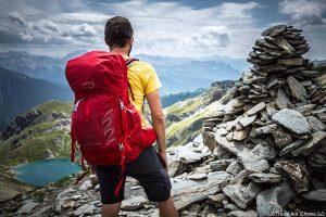 Review Test sac à dos Osprey Talon 44 au sommet du Pic du Malrif, Queyras, Hautes-Alpes