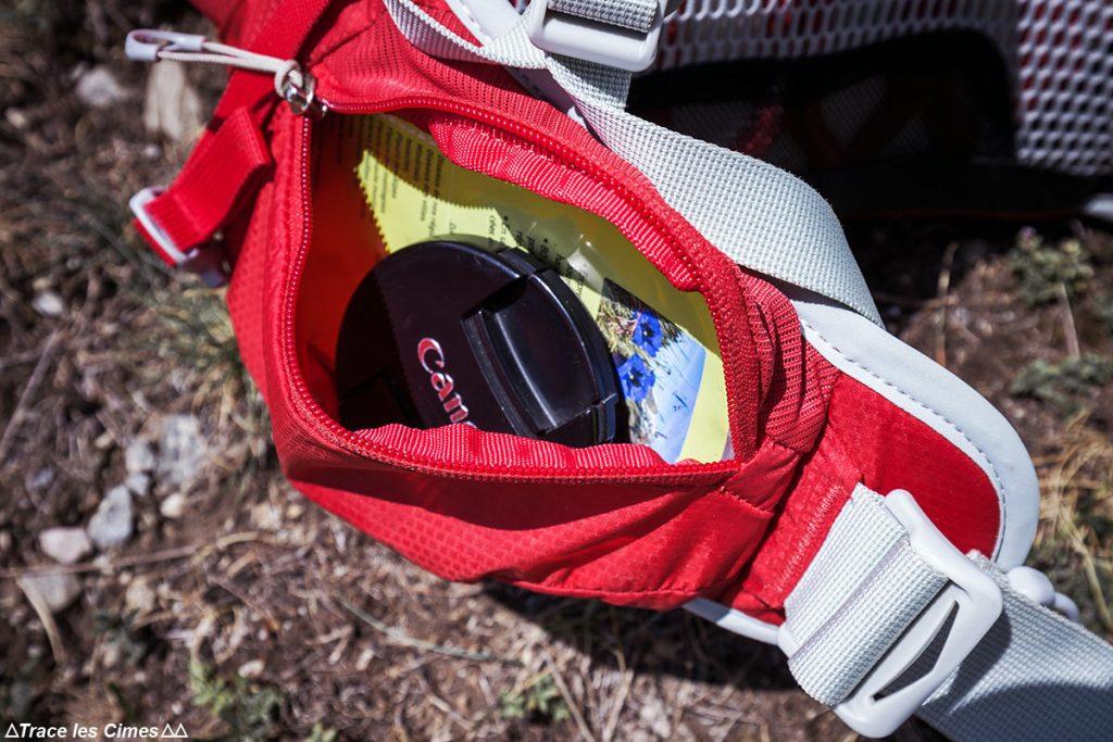 Test Sac à dos Osprey Talon 44 litres : poche ceinture