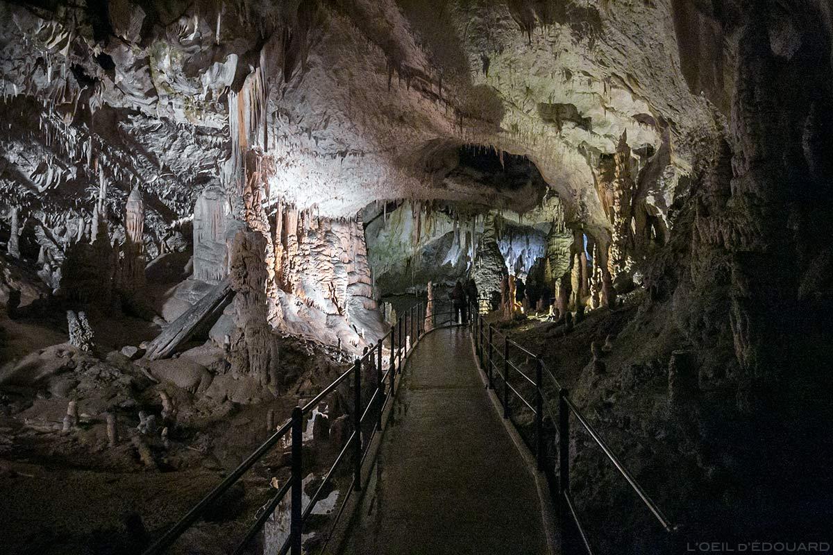 Visite de la Grotte de Postojna, Slovénie - Postojnska jama Postojna cave Slovenia