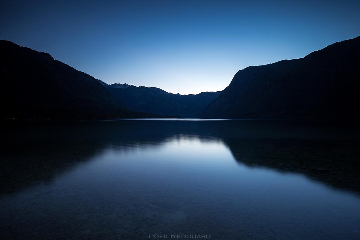 Crépuscule sur le Lac de Bohinj, Slovénie - Bohinj Lake, Slovenia / Bohinjsko jezero, Slovenija