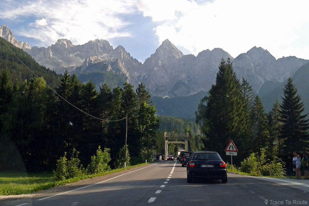 Route vers le Col de Vršič, Alpes Juliennes - Voyage Road Trip en Slovénie, Slovenia