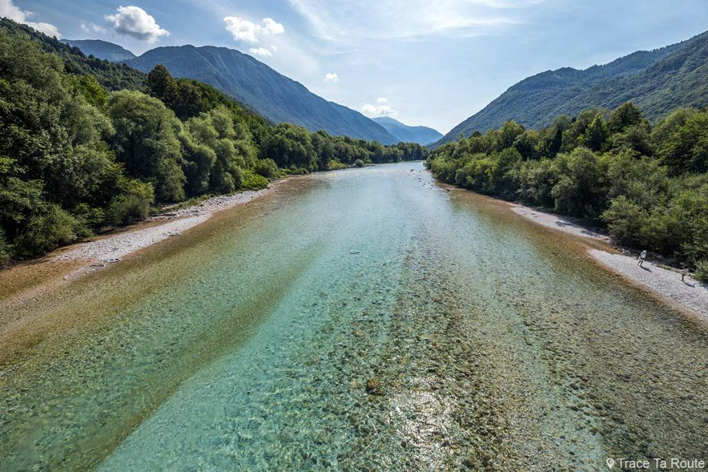 Rivière de la Soča, Slovénie