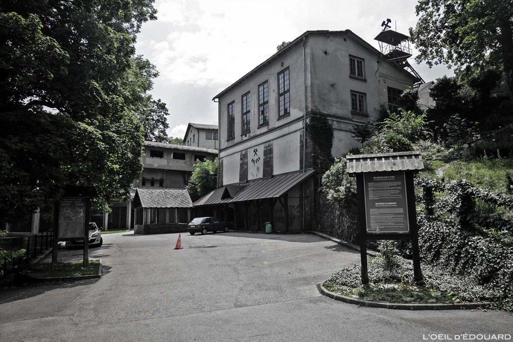 Kamšt, ancienne mine de la ville de Idrija en Slovénie - Slovenia / Slovenija