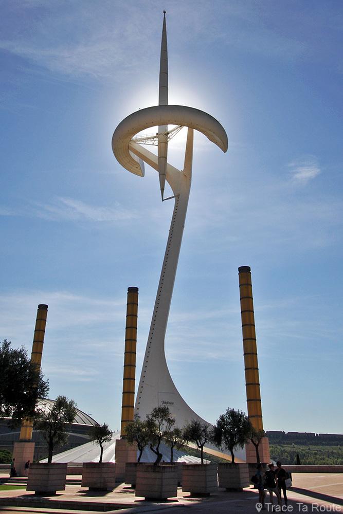 La Tour de Télécommunications de Montjuic, Barcelone / Montjuïc Telecommunications Tower, Barcelona - Architecture Santiago Calatrava