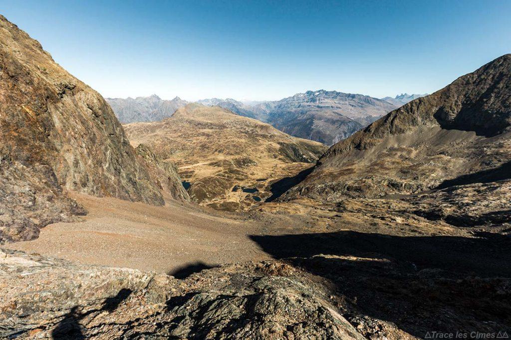 Itinéraire randonnée combe de la face Nord du Massif du Taillefer