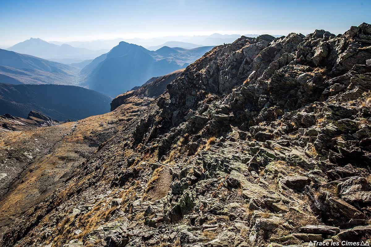 Itinéraire randonnée : Croix du Sergent Pinelli, Massif du Taillefer