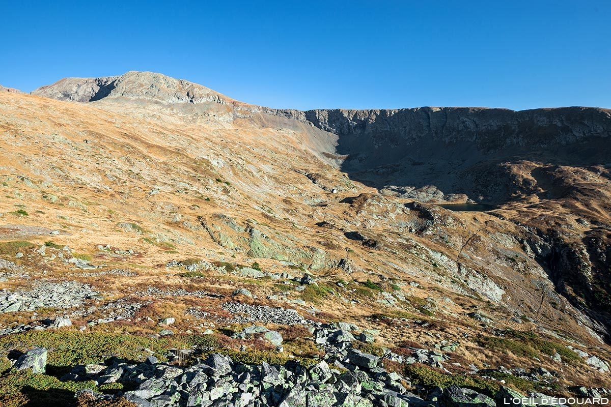 Le vallon et l'Arête de Brouffier, Massif du Taillefer