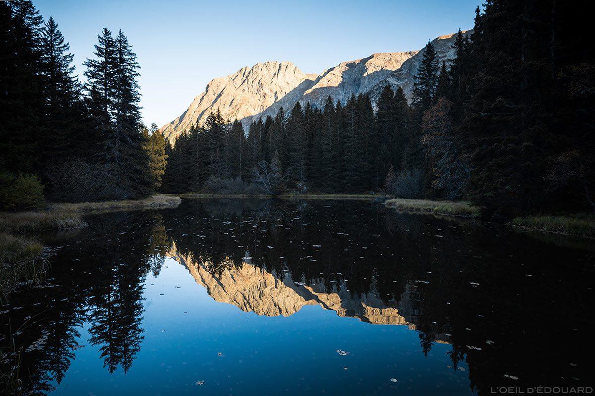 Lac Plunay et Rocher Culasson, Massif du Taillefer