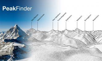 PeakFinder - Application pour connaitre le nom des montagnes