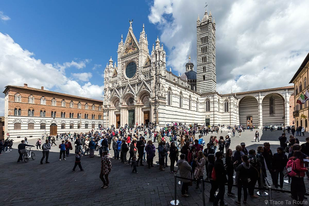 Cathédrale de Sienne / Duomo di Siena © Trace Ta Route