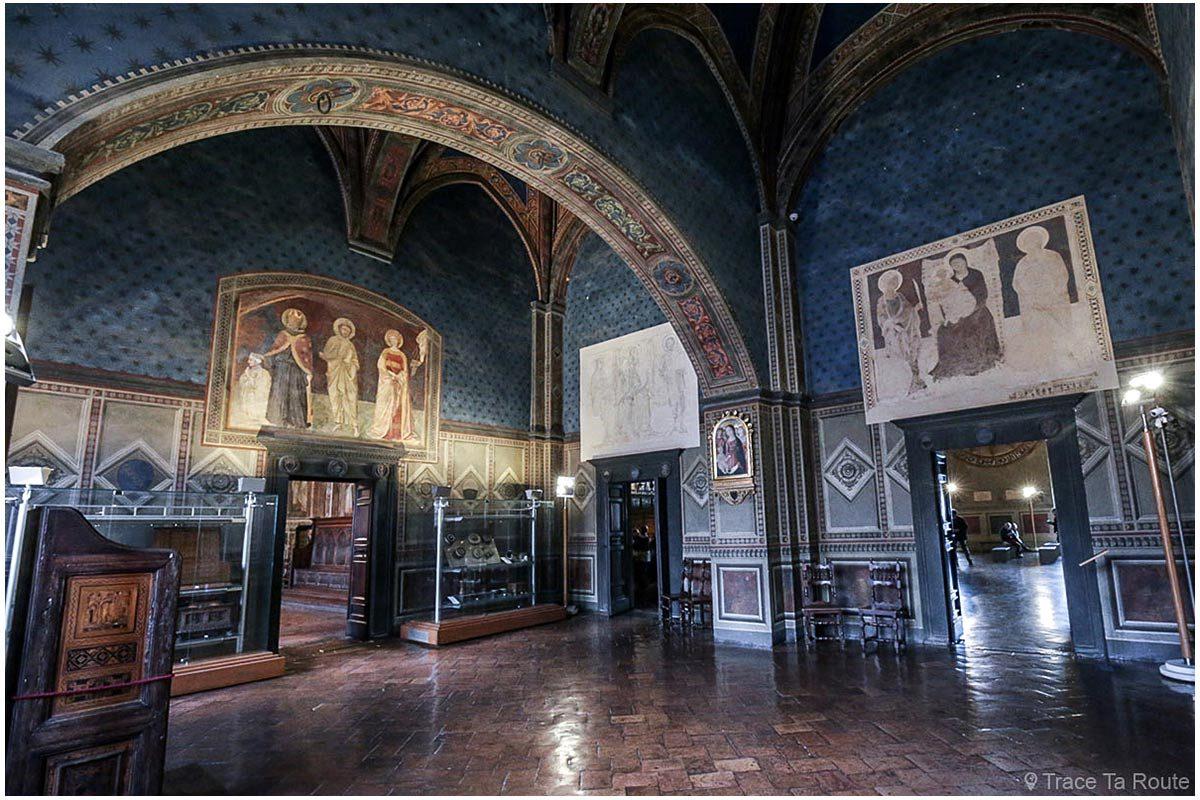 Antichambre du Consistoire / Salle des Cardinaux du Museo Civico de Sienne - Anticamera del Consistoro / Sala dei Cardinali di Palazzo Pubblico di Siena