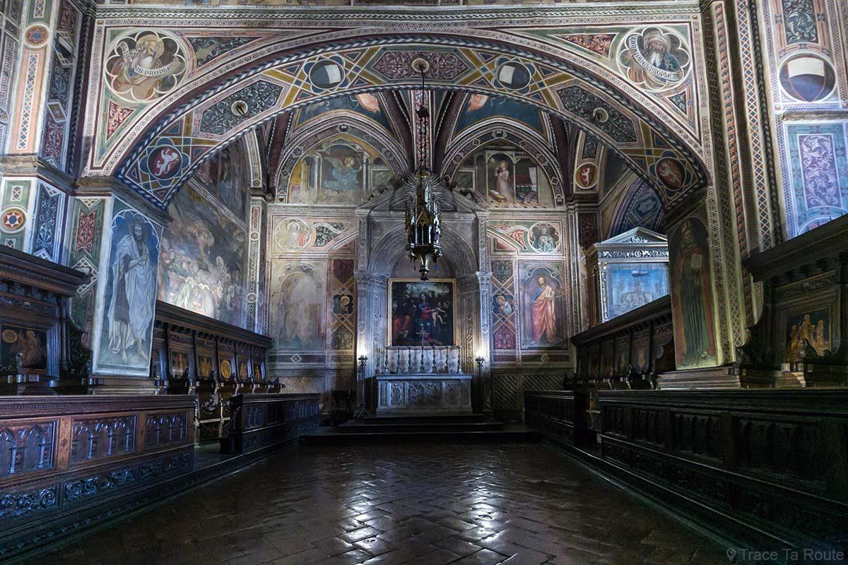 La Chapelle du Museo Civico de Sienne - Cappella di Palazzo Pubblico di Siena