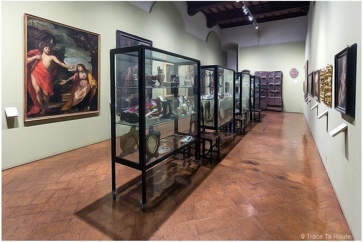 Galerie du Museo Civico de Sienne - Quadreria di Palazzo Pubblico di Siena