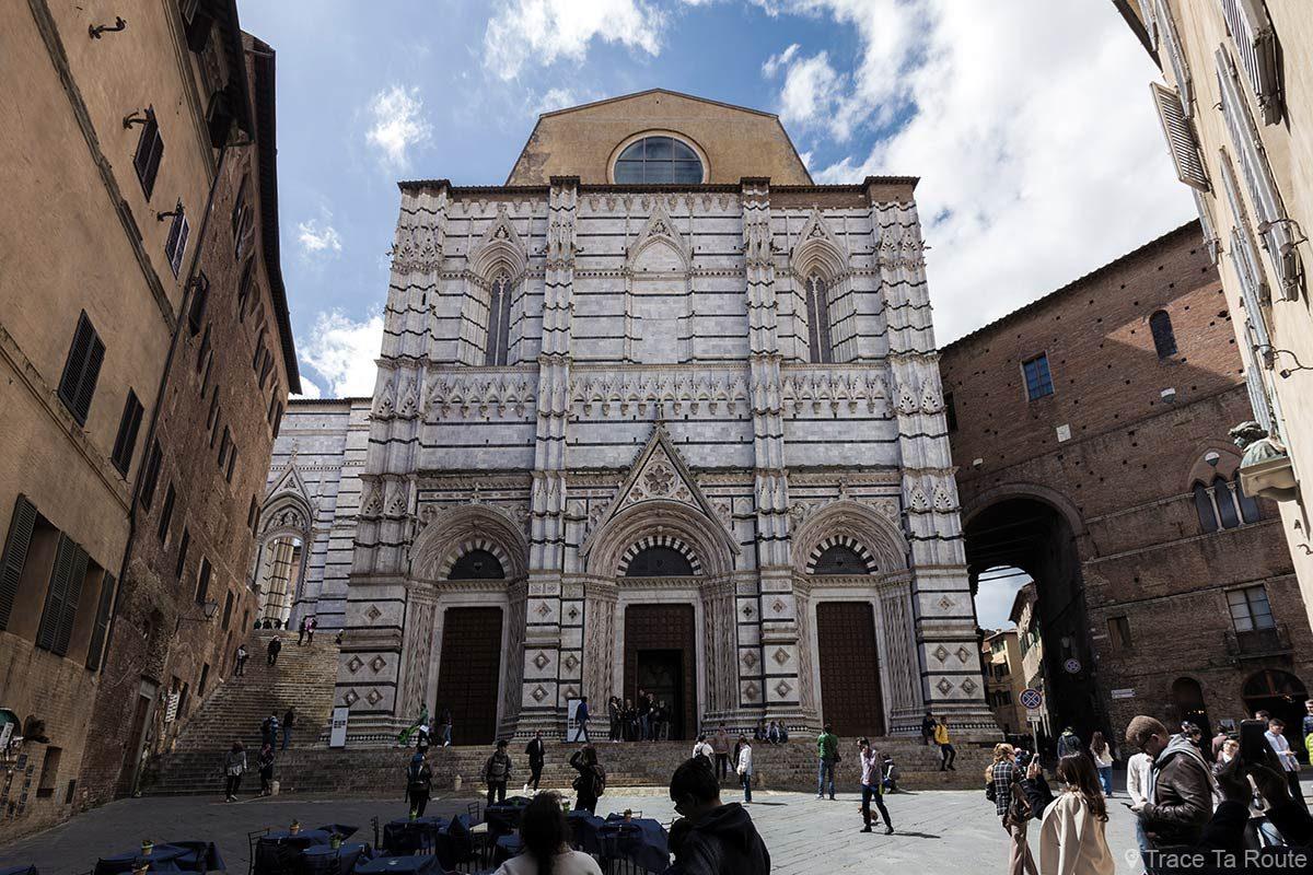 Baptistère San Giovanni, Cathédrale de Sienne / Battistero di San Giovanni, Duomo OPA - Piazza San Giovanni, Siena