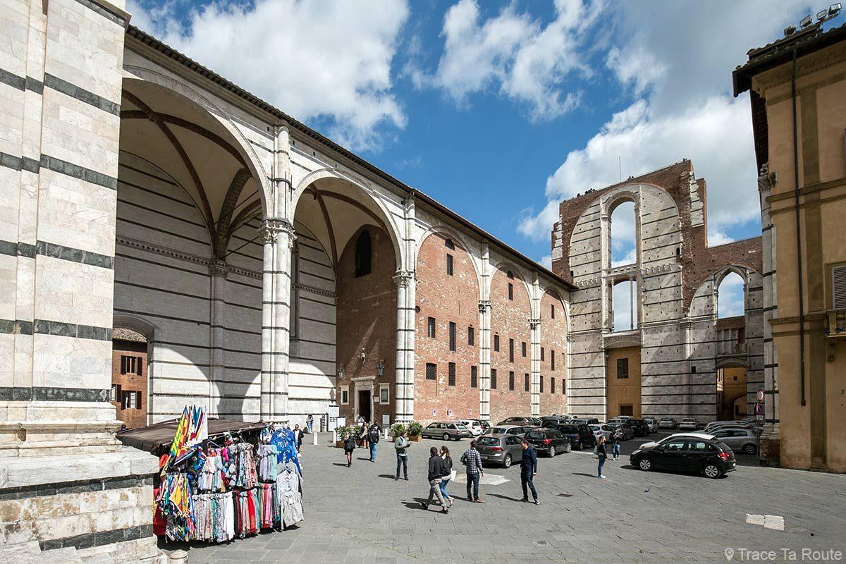 Facciatone, Cathédrale de Sienne / Duomo di Siena