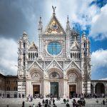Cathédrale de Sienne - Façade Cathédrale Gothique Duomo di Siena (Santa Maria Assunta)
