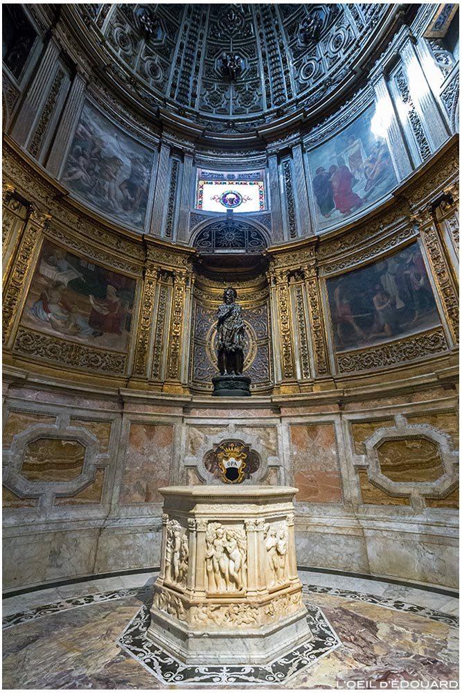 Chapelle Saint Jean-Baptiste Cathédrale de Sienne - Cappella San Giovanni Battista Duomo di Siena (Santa Maria Assunta) - Puit Pozzo Antonio Federighi + Donatello