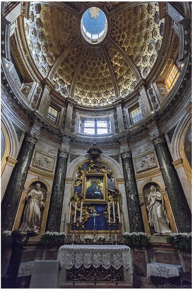 Chapelle de la Vierge du Voeu Cathédrale de Sienne - Cappella della Madonna del Voto / Cappella Chigi Duomo di Siena (Santa Maria Assunta) - Madonna del Voto, Dietisalvi di Speme