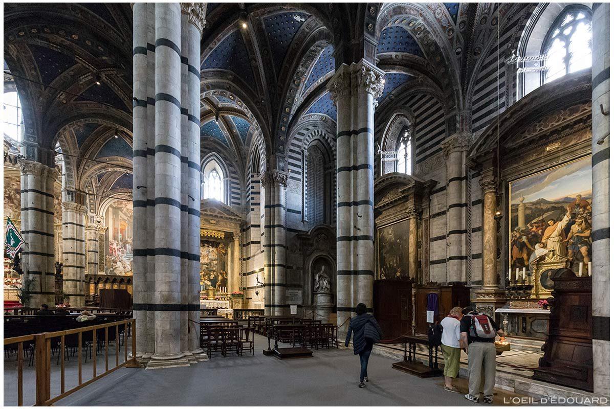 Cathédrale de Sienne - Intérieur Duomo di Siena (Santa Maria Assunta) : autel transept