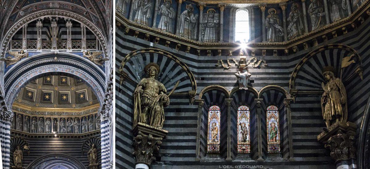 Statues Cathédrale de Sienne - Duomo di Siena (Santa Maria Assunta)