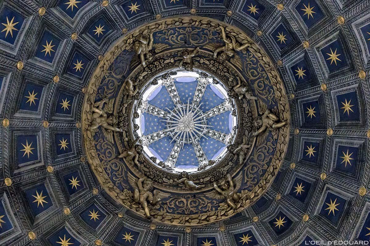 Détail coupole Cathédrale de Sienne - Lanterna del Duomo di Siena (Santa Maria Assunta)