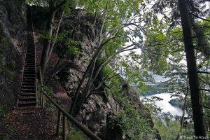 Randonnée à Osojnica, au-dessus du Lac de Bled, Slovénie - Blejsko jezero, hiking Slovenia Slovenija