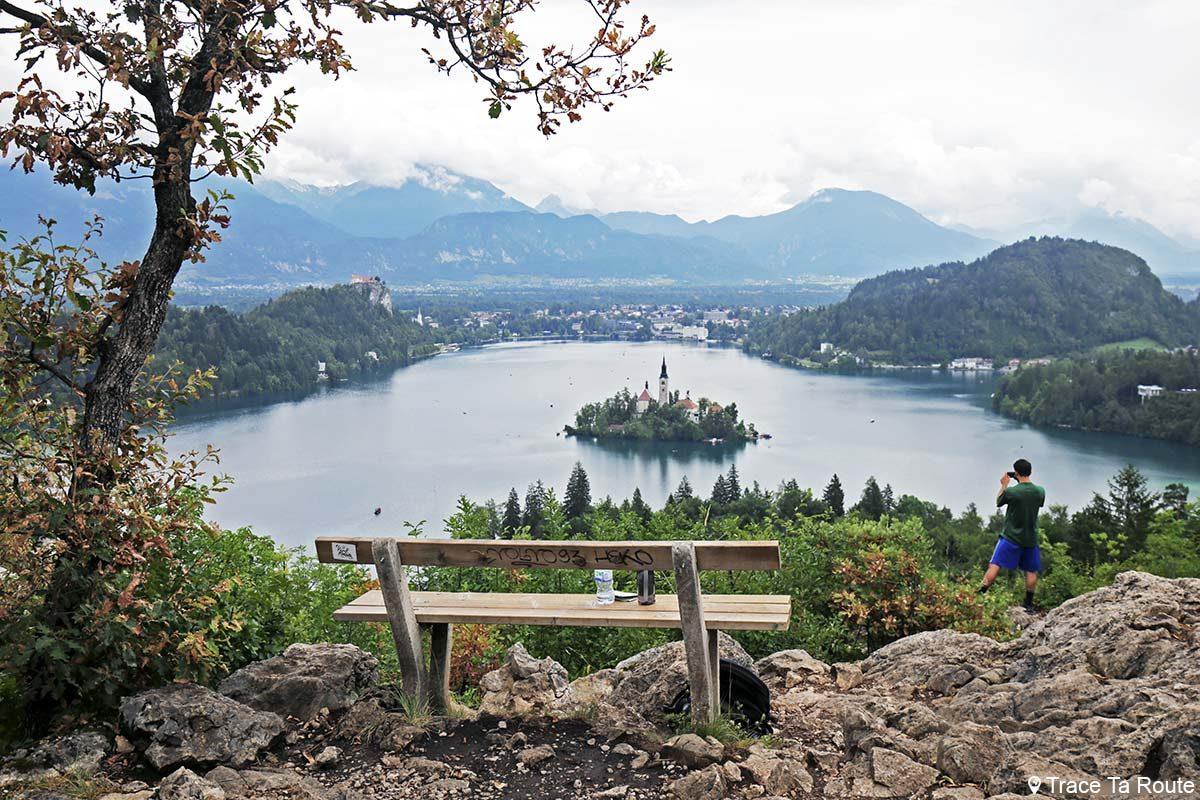 Randonnée à Ojstrica, au-dessus du Lac de Bled, Slovénie - Blejsko jezero, hiking Slovenia Slovenija
