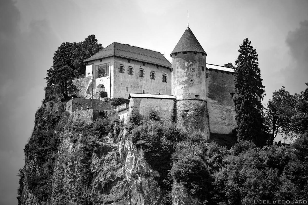 Le Château de Bled, Blejski grad, Slovénie - Blejsko jezero, Slovenia Slovenija