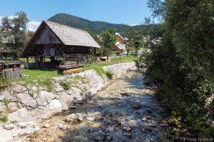 Village Stara Fužina, Bohinj, Slovénie - Bohinjsko jezero, Slovenija Slovenia