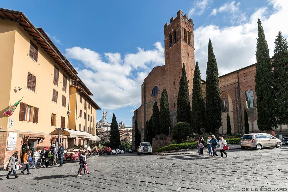 La Basilique San Domenico de Sienne - Piazza San Domenico e Basilica Cateriniana di San Domenico, Siena