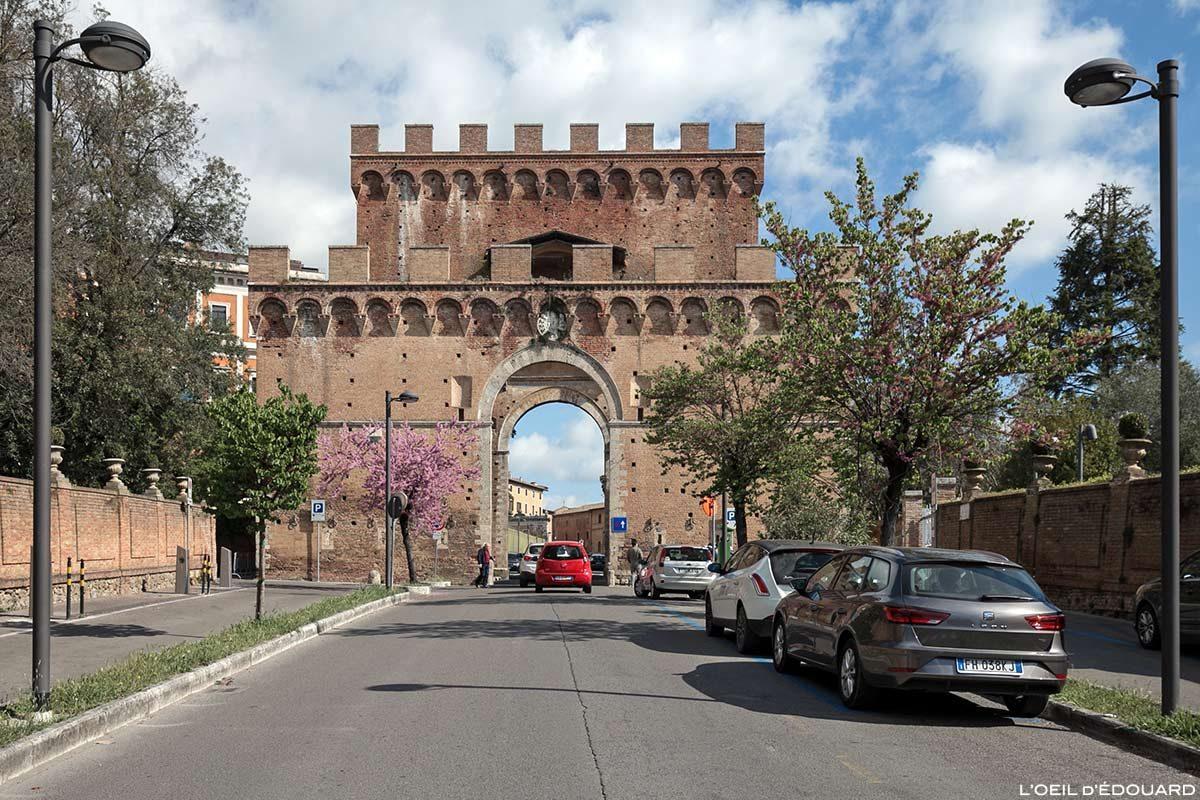 Visite de Sienne : Porta Romana, Siena