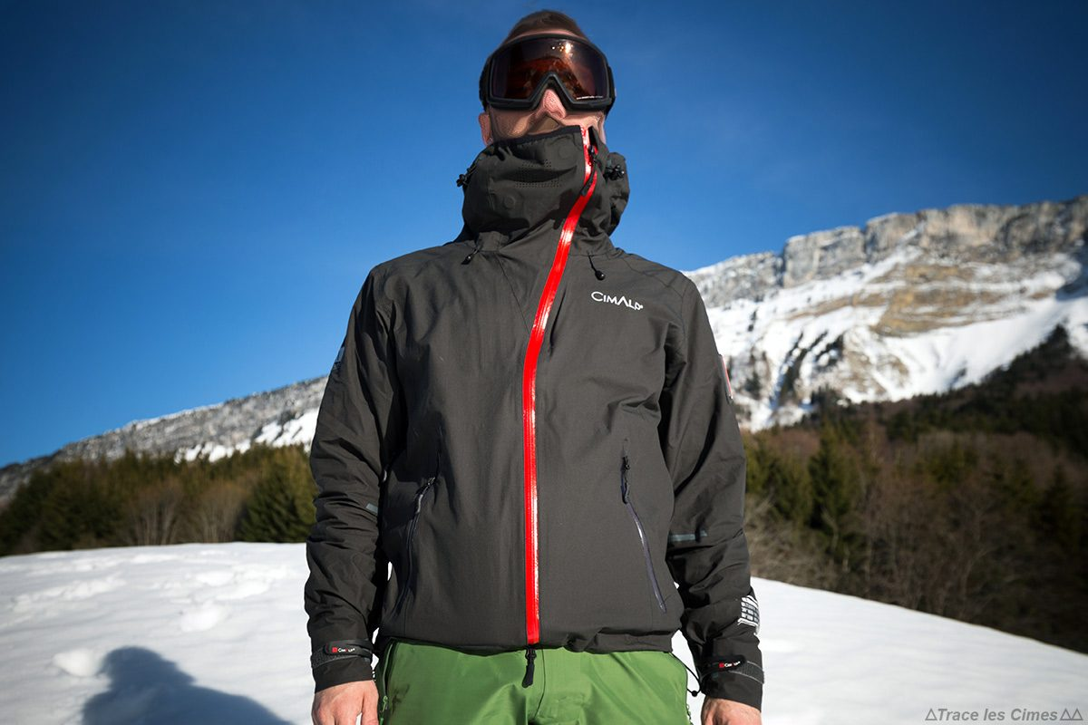 Veste ultrashell CimAlp Advanced - Test matériel outdoor montagne
