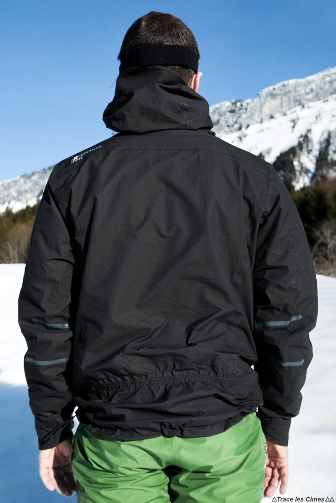 Veste ultrashell CimAlp Advanced - Test matériel outdoor montagne