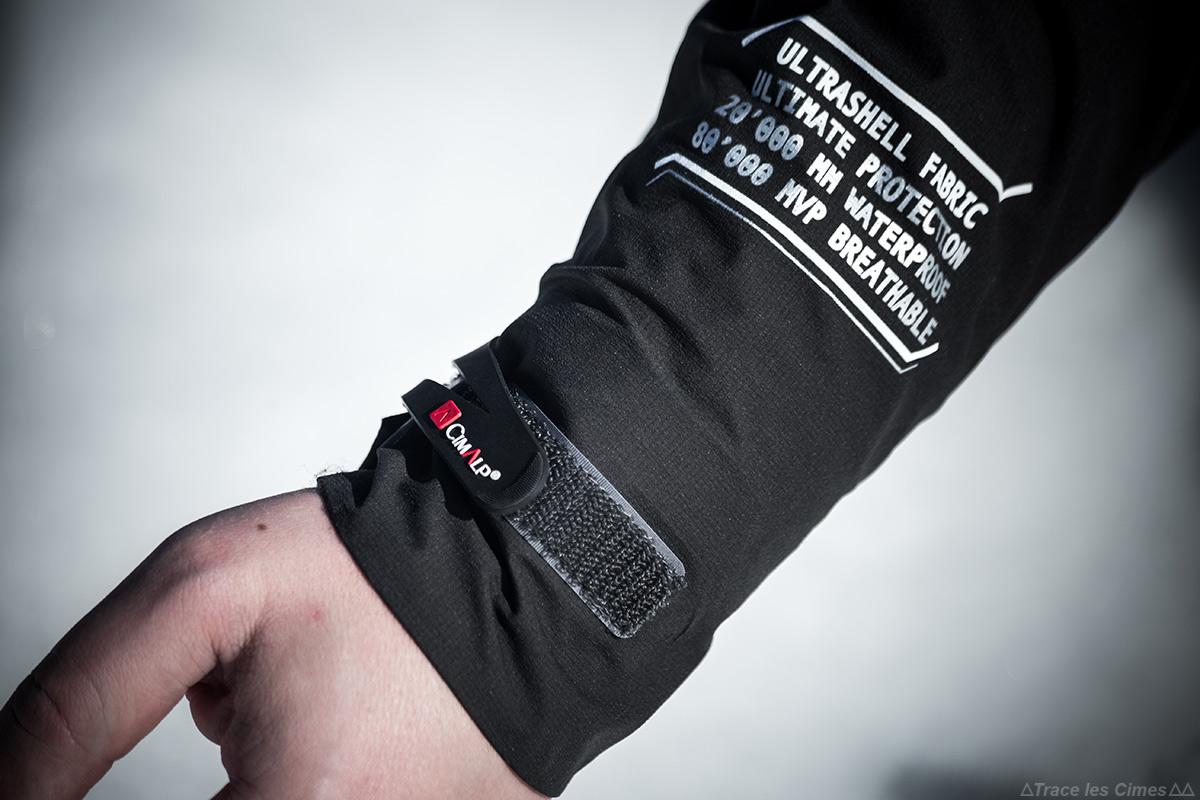 Test : Veste ultrashell CIMALP ADVANCED pour le ski, l