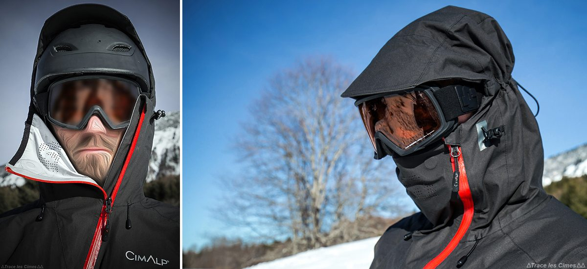 Capuche Veste ultrashell CimAlp Advanced - Test matériel outdoor montagne