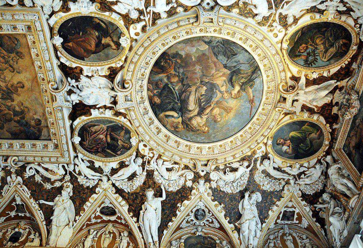 Salle intérieur du Palais des Doges de Venise © Dennis Jarvis