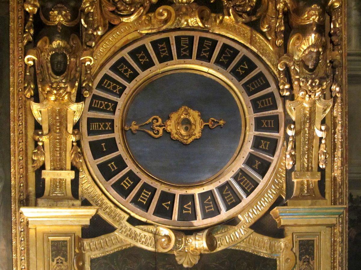 Horloge intérieur du Palais des Doges de Venise © Plenz