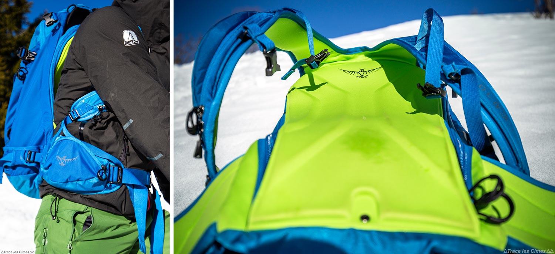 Test Sac à dos ski de randonnée Osprey Kamber 32 litres