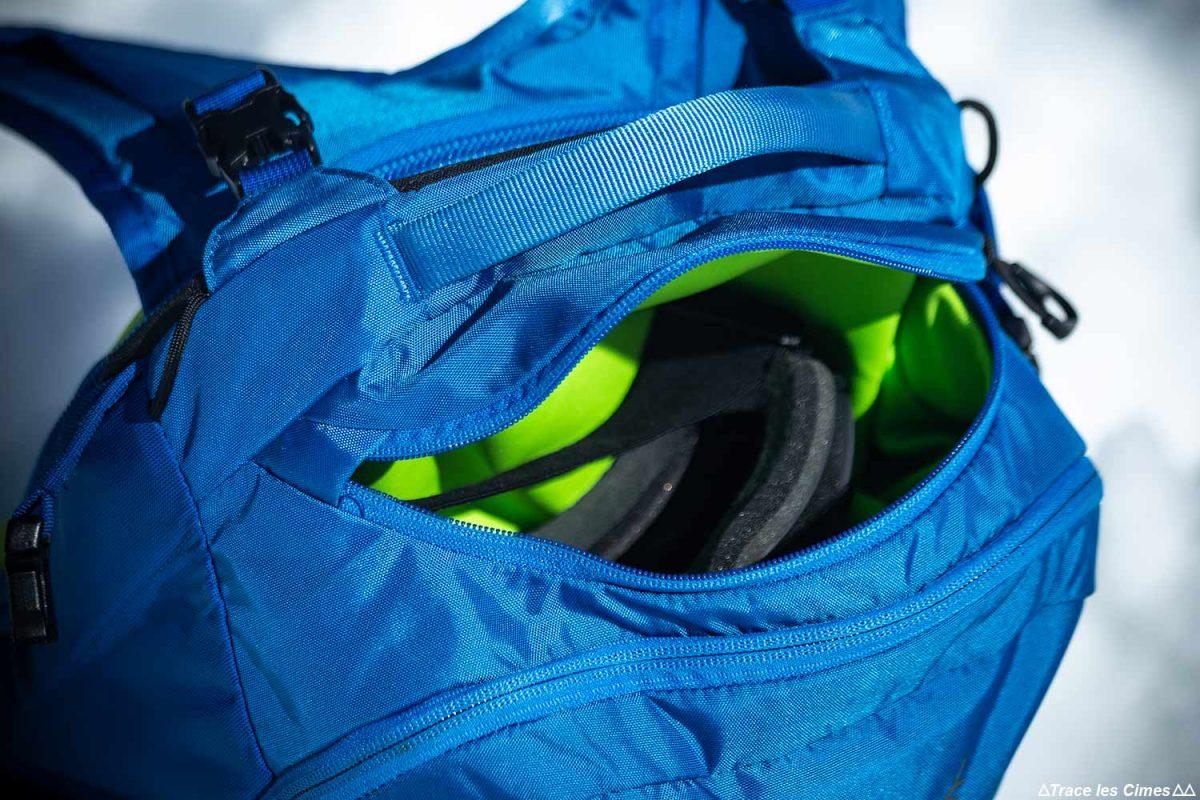 Test Sac à dos ski de randonnée Osprey Kamber 32 litres : poche