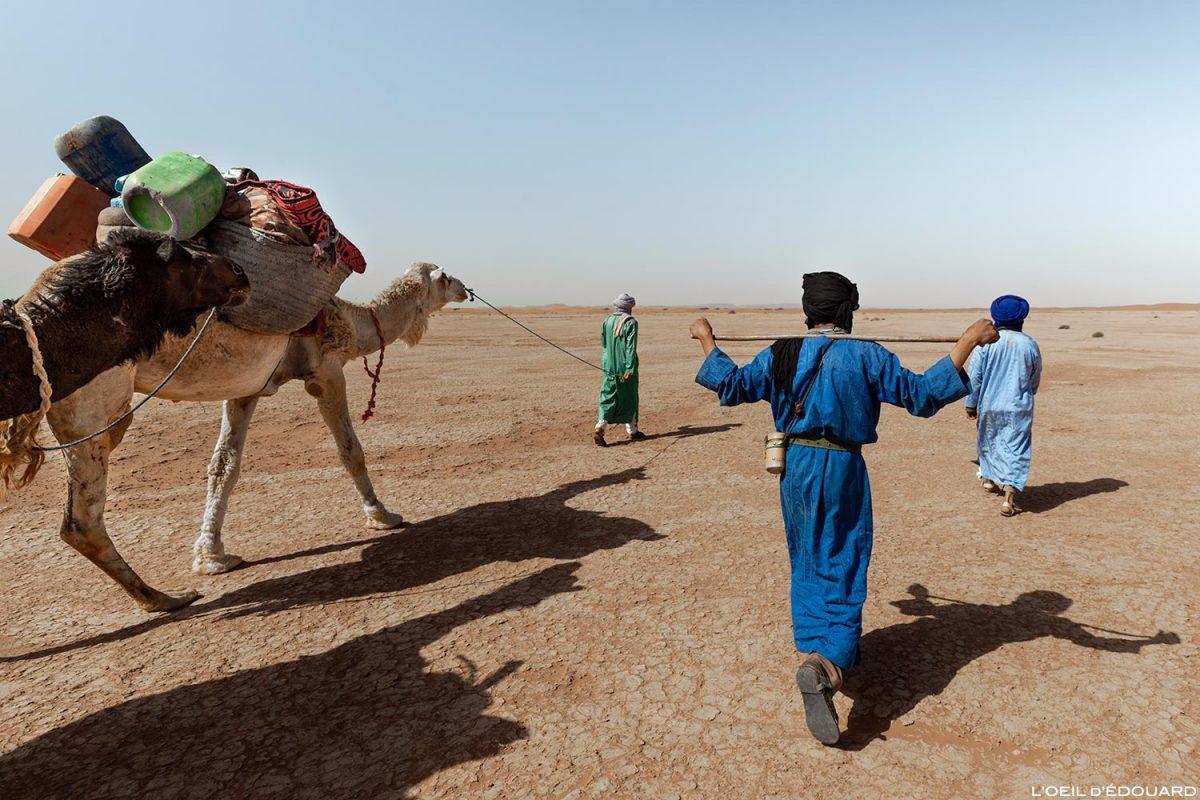 Trek dans le Désert du Maroc - Trek avec Mélodie du Désert © L'Oeil d'Édouard