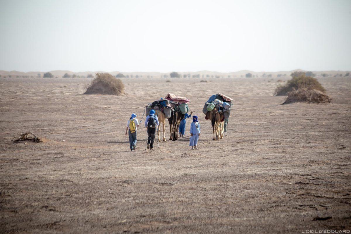 Trek nomade dans le Désert du Maroc