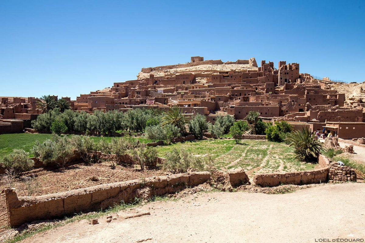 Ksar Aït Ben Haddou dans le désert du Maroc