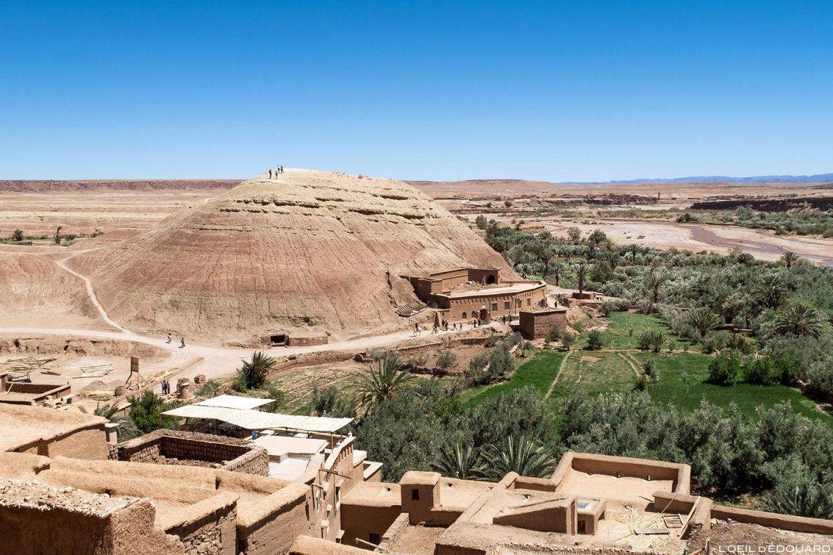Ksar Aït Ben Haddou dans le désert du Maroc, près de Ouarzazate
