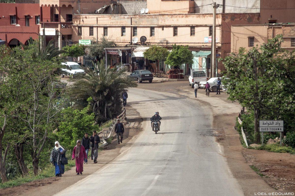 Village marocain de Touama, Maroc