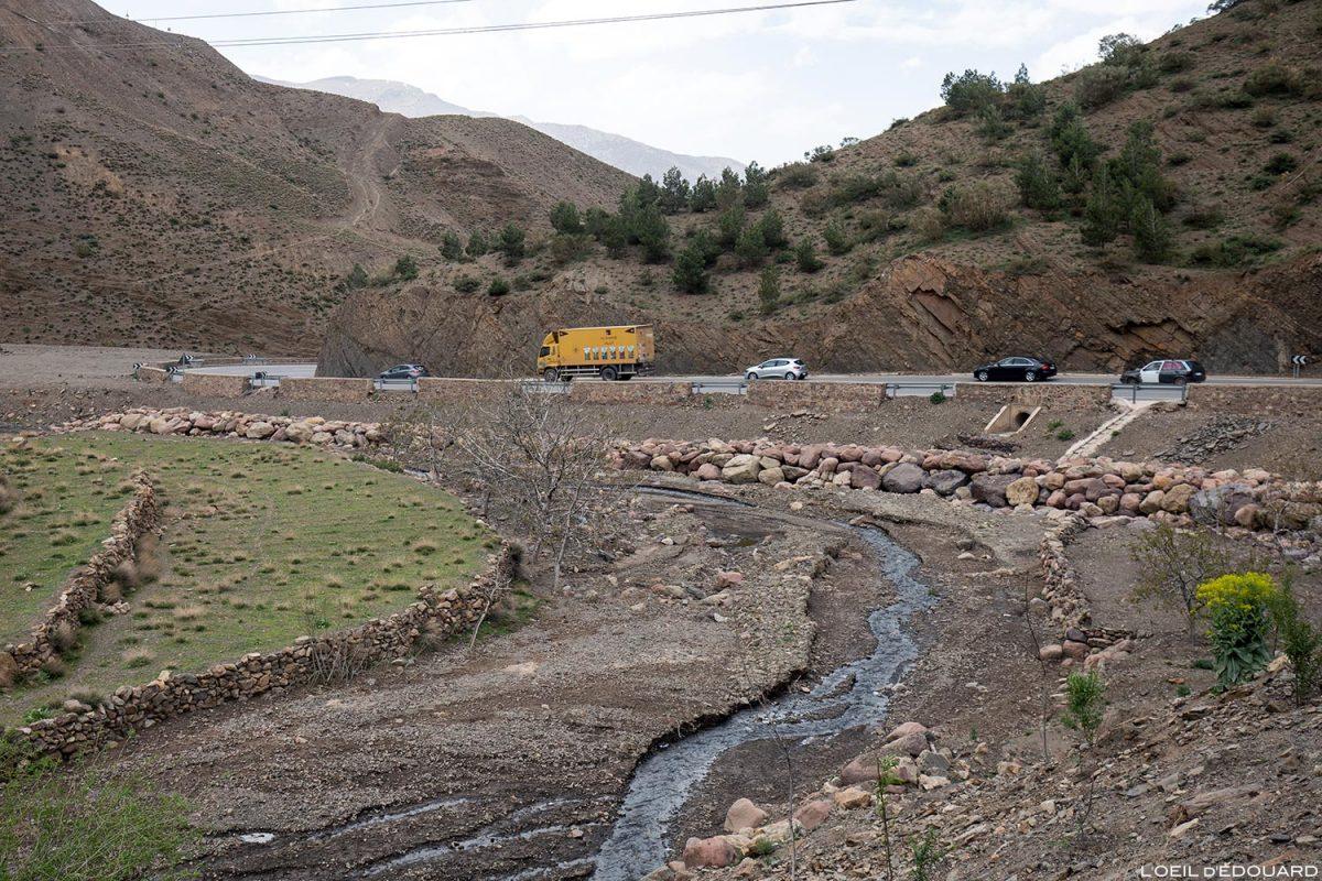 Route du Maroc à El Haouz, Vallée du Tichka