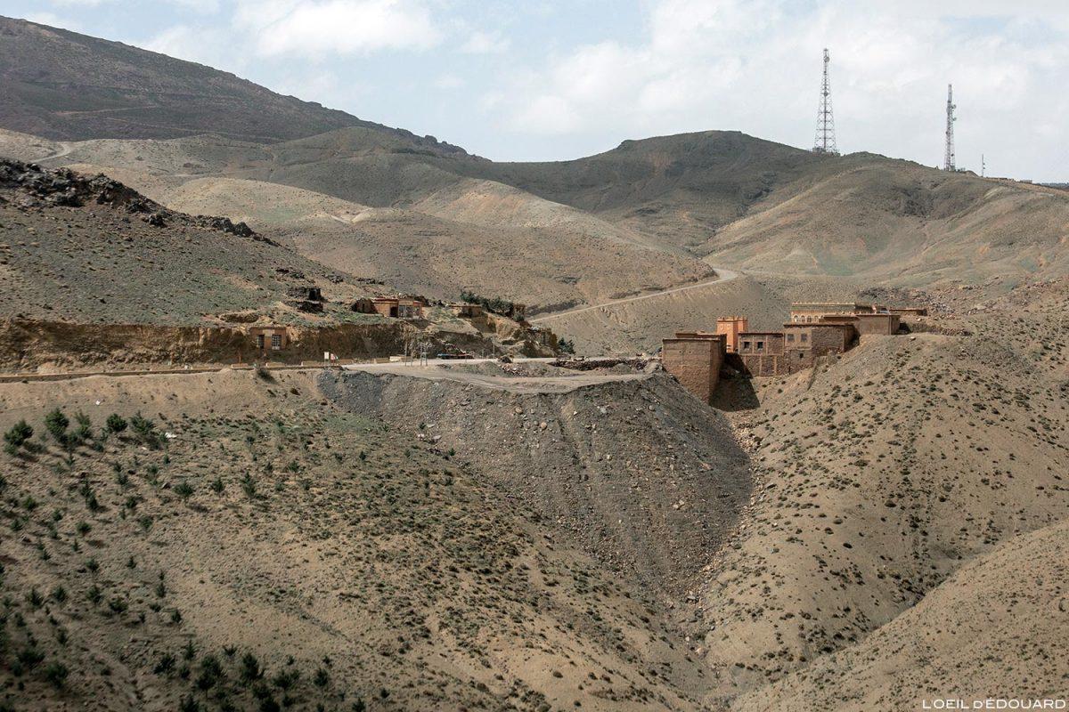 Tizi n'Tichka, le Col du Tichka, Maroc