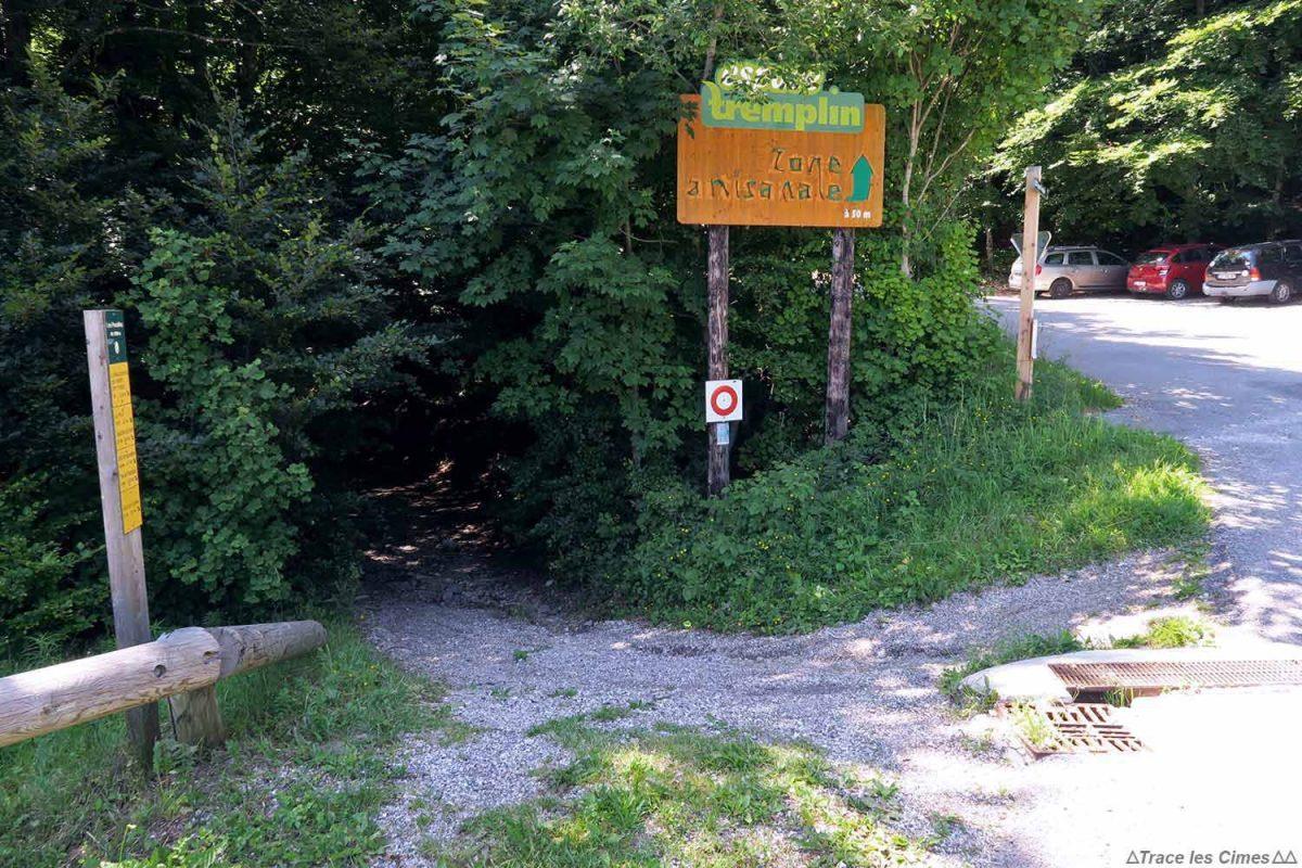 Départ randonnée Le Moucherotte, départ parking les Pucelles