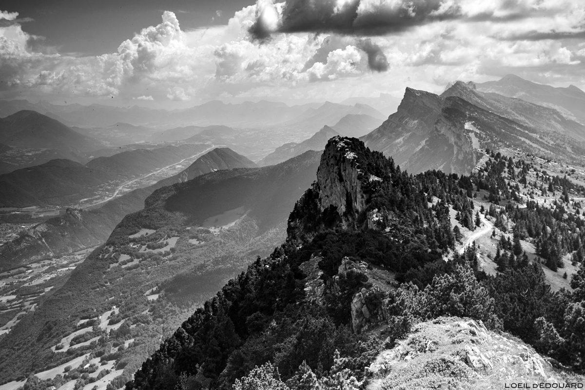 Trièves et Vercors au sommet Le Moucherotte