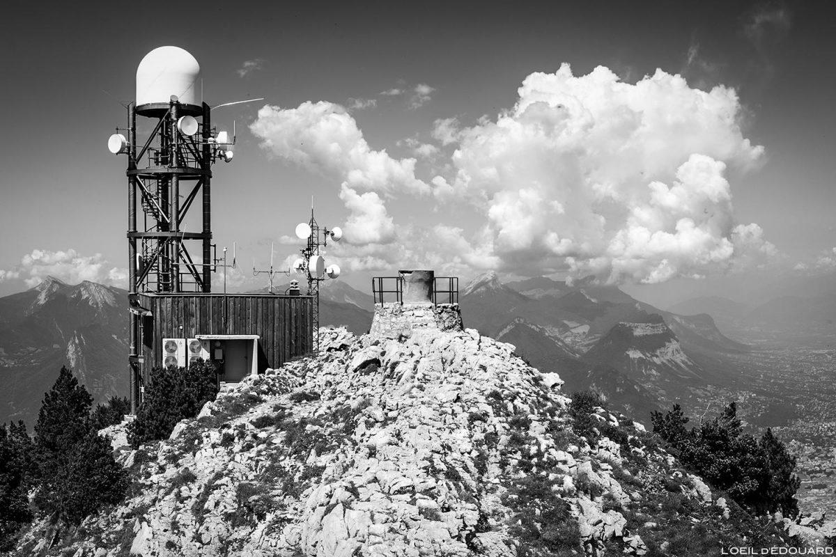 Sommet Le Moucherotte et radar © L'Oeil d'Édouard - Tous droits réservés