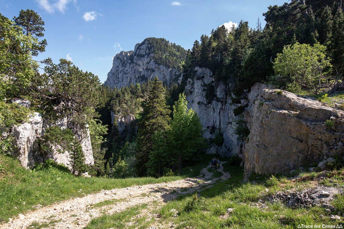Sentier de randonnée, Le Moucherotte